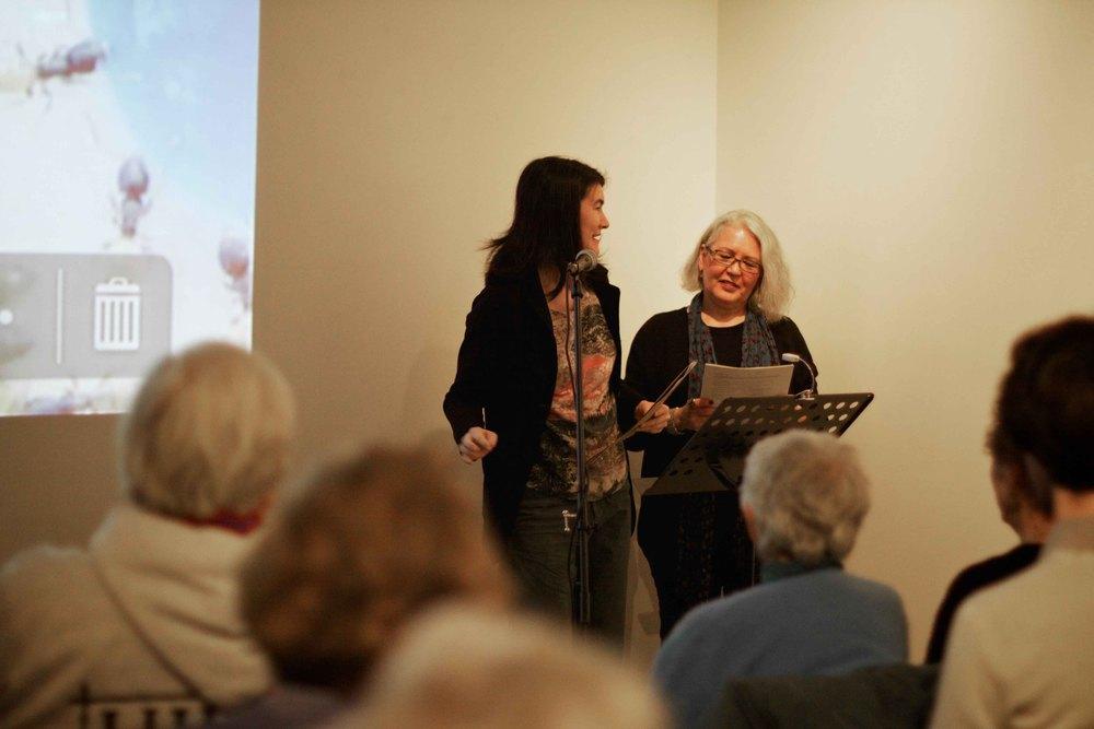 Kelty McKinnon (L) & Jonina Kirton (R)