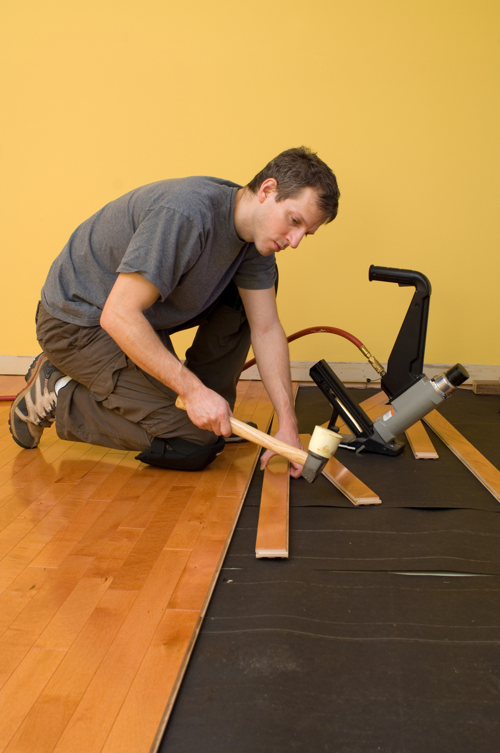 All Decor has qualified installers, or you can fit it yourself.