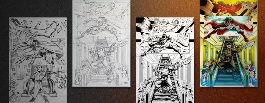C.A.S.T: Comic, Art & Story-telling