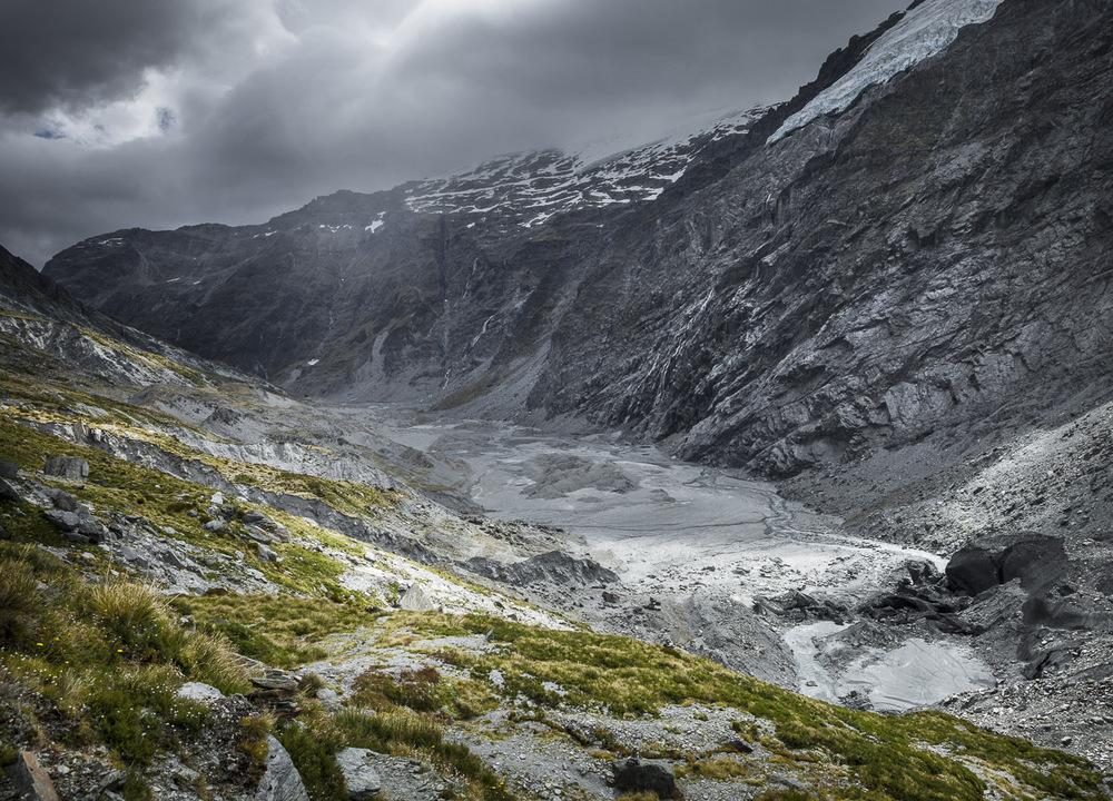 Dart Glacier, Mt. Aspiring NP, New Zealand