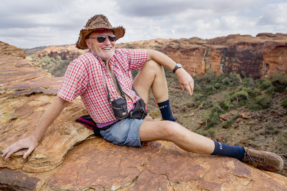 Hans the happy man, Kings Canyon