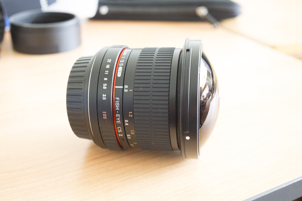 Rokinon 8mm f/3.5 Fisheye