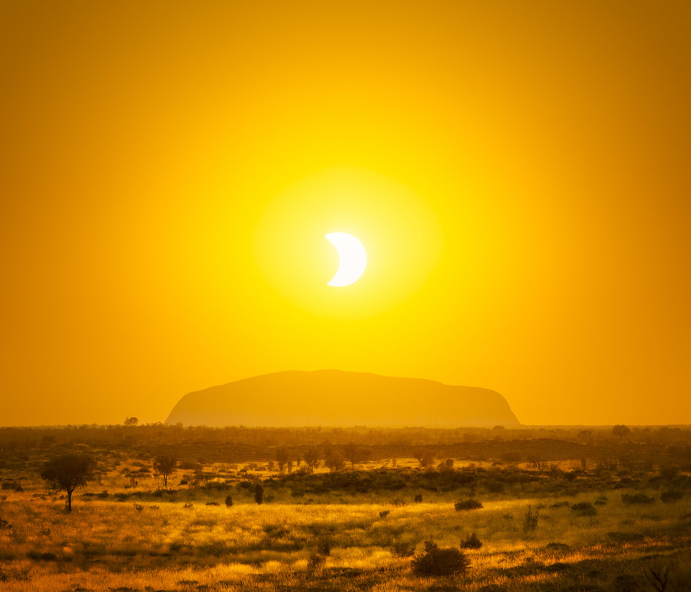 The one and only Uluru and Eclipse
