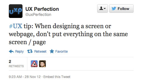 Excellent point,  @uxPerfection !