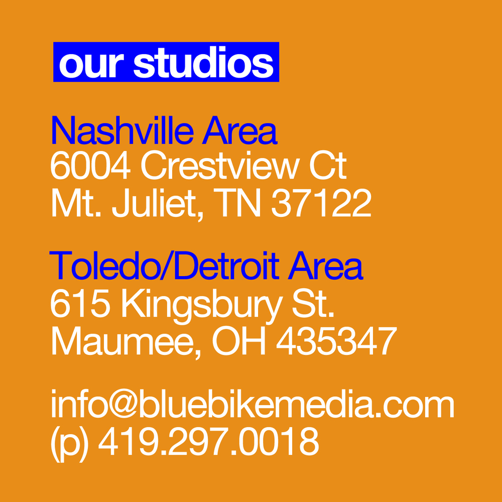 Blue Bike Media Video Production Contact