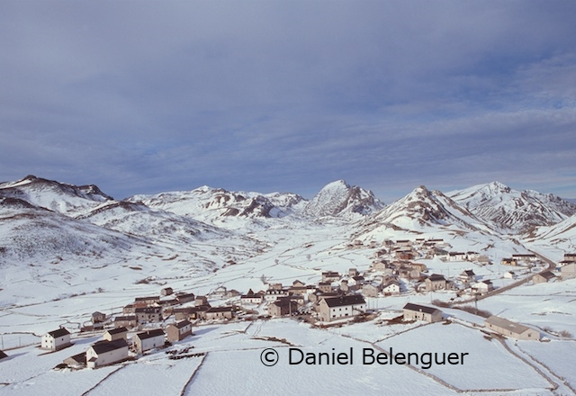 Spain Images. PN Somiedo. Asturias. El Puerto de Somiedo, winter. © Daniel Belenguer