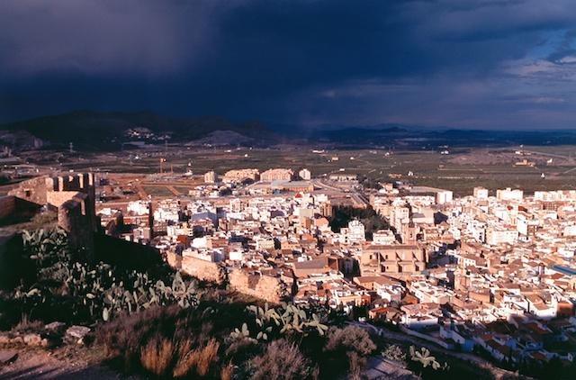 View of Sagunto. Campo de Morvedre. © Daniel Belenguer