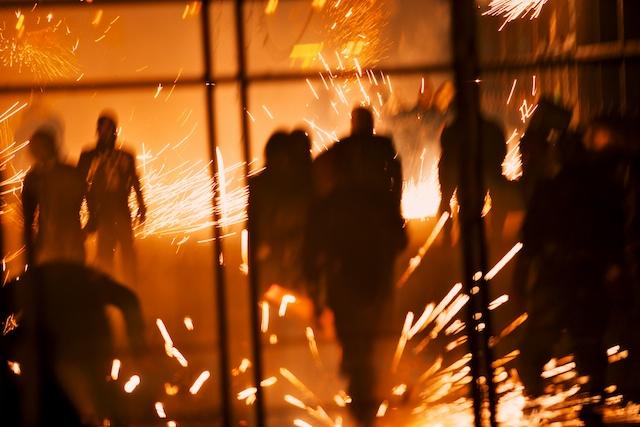 "Spain pictures. Fireworks in Paterna. "" La Cordà de Paterna""- © Daniel Belenguer"