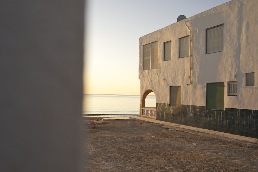Urbanización en invierno. Santa Pola, Alicante.