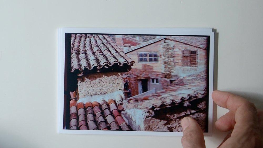 Fotograma del pequeño video donde se puede ver Ráfales desde una perspectiva inusual.