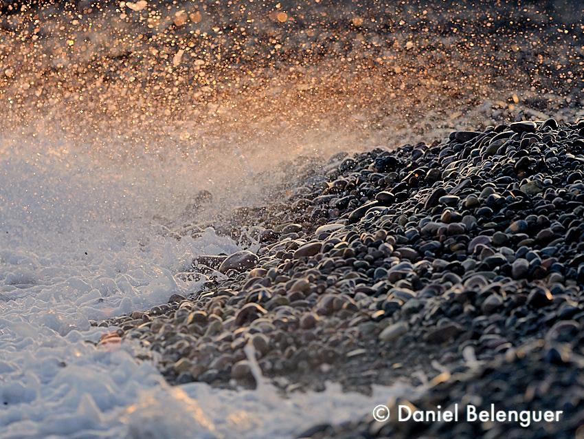 Atardecer en la playa de la Marjal del Moro. © Daniel Belenguer