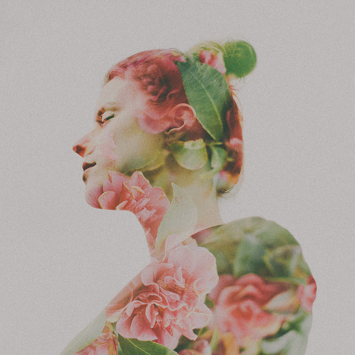 Double Exposure Portraits by Dylan & Sara Photography