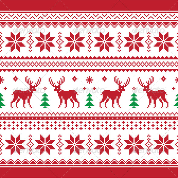 Christmas Knitting Pattern