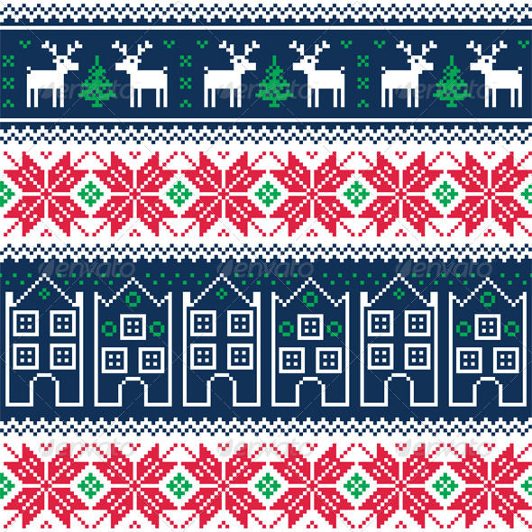Nordic Christmas Pattern