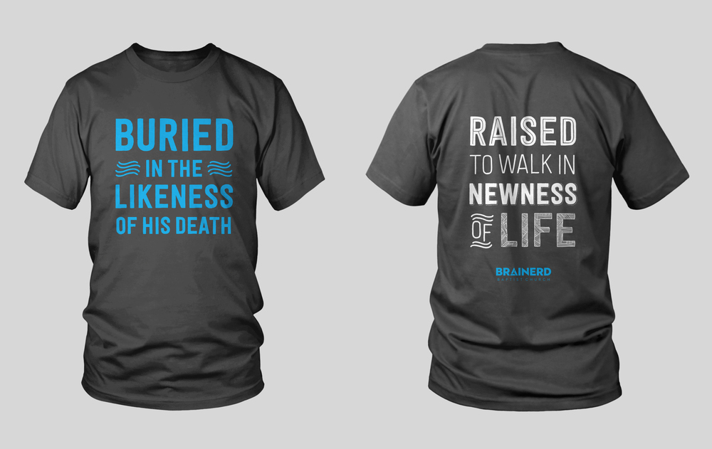 our new baptism t shirt jared callais