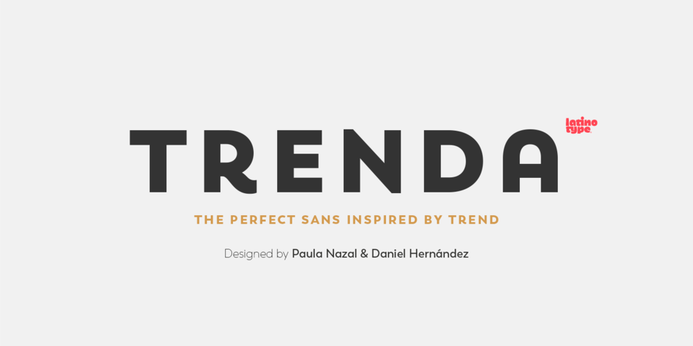 Trenda Font