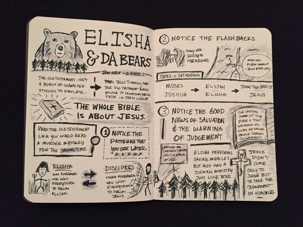 Elisha Sketchnotes