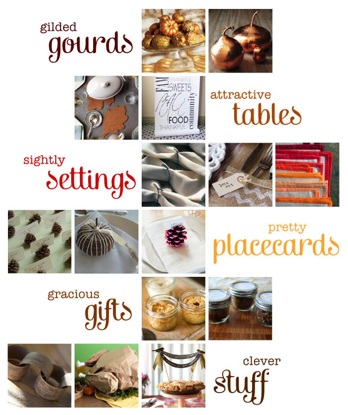 Luri and Wilma Thanksgiving DIY Round-Up