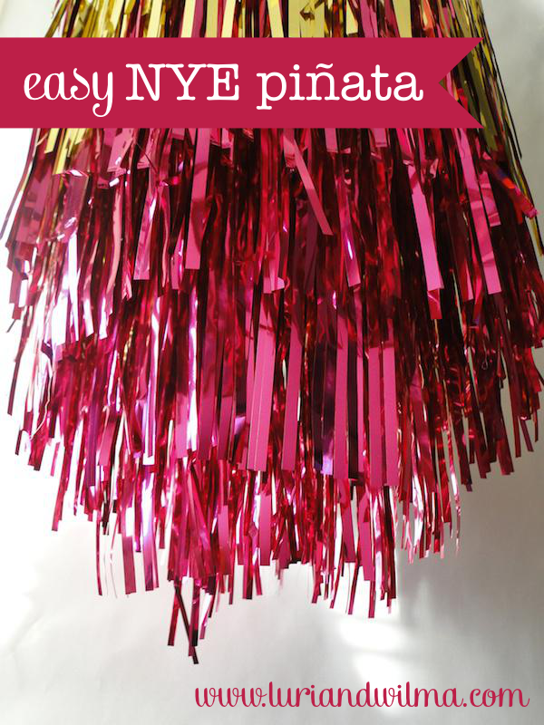 Easy New Year's Eve Piñata Tutorial
