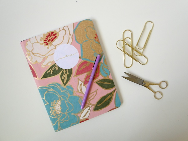 Pretty Little Comp Book DIY