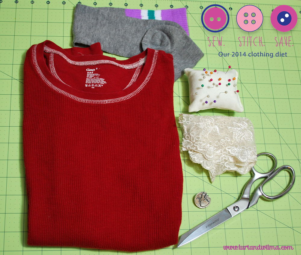 For more info on our Sew. Stitch. Save 2014 clothing diet & to join the club, go here.