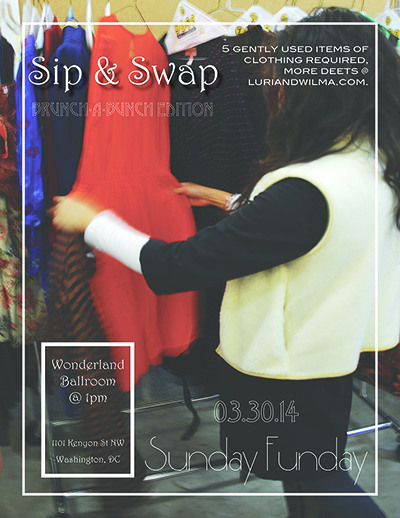 Grab your tickets for our next swap!