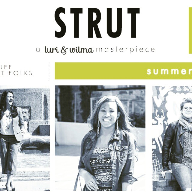 TONIGHT!! It's time to party your ass off, #STRUT is here! #DC peeps join us at the Handsome Cock on U Street for our dope ass release party. #print #fashion #fun #dranks