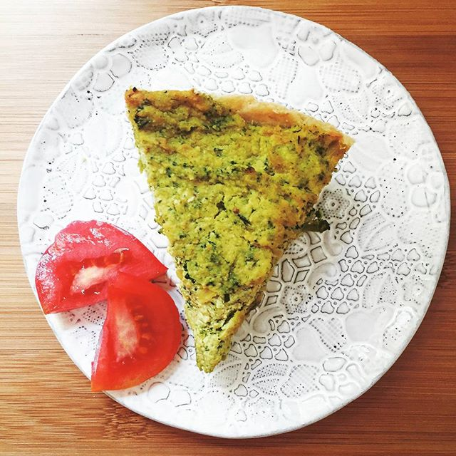 #MeatlessMonday #recipe | #Vegan Broccoli Quiche on the blog NOW!