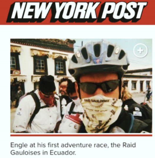 """How a coke addict-turned-ultramarathoner became a prison hero"" New York Post By MICHAEL KAPLAN,  September 10, 2016 ---------------------------------------"