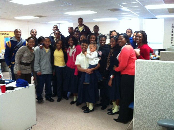 Dec. 2010 Alumni-Student Meet & Greet