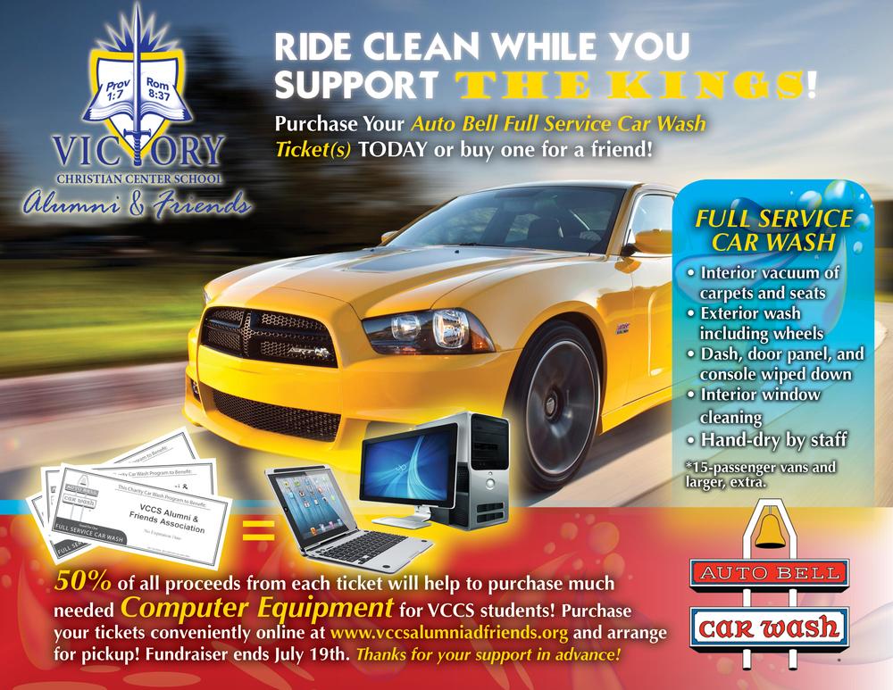Alumni Friends Auto Bell Car Wash Fundraiser Vccs Alumni