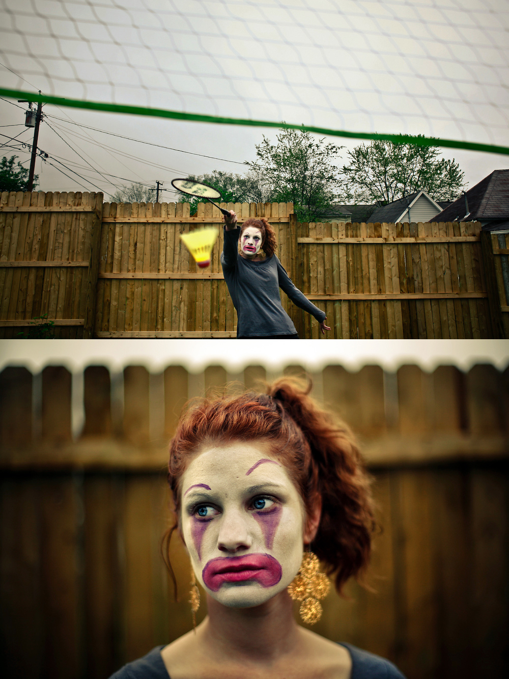 Clown Diptych