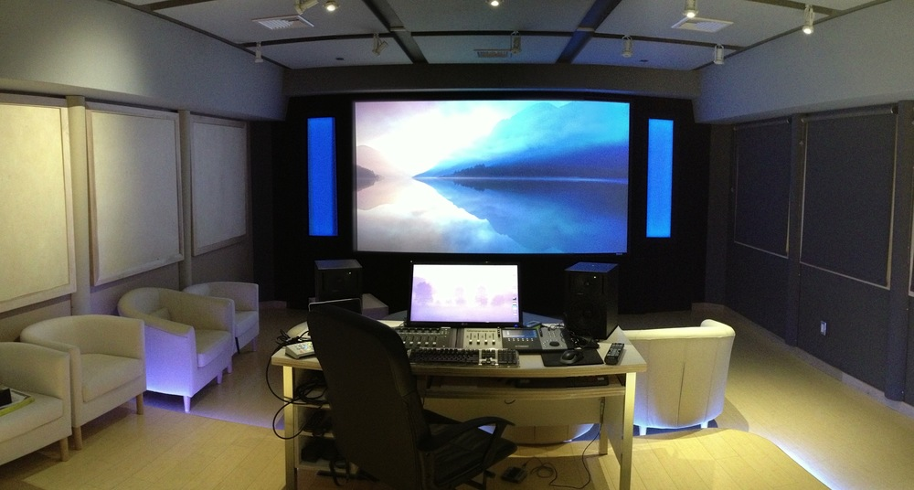 7.1 Dolby Mix Room