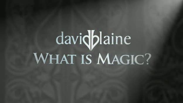 David Blaine TV Special  Travel Channel, 2011