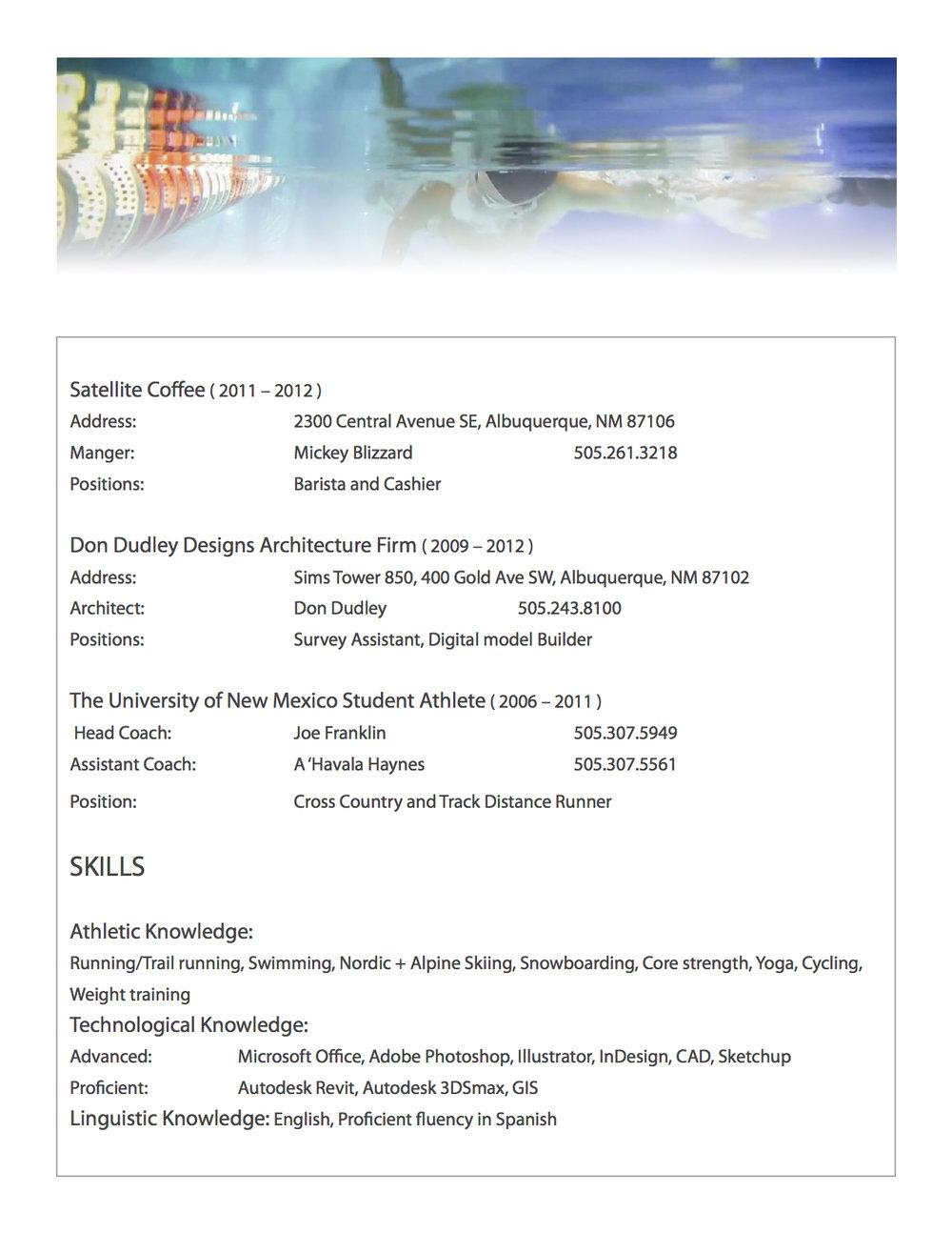 athletic resume alex william willis
