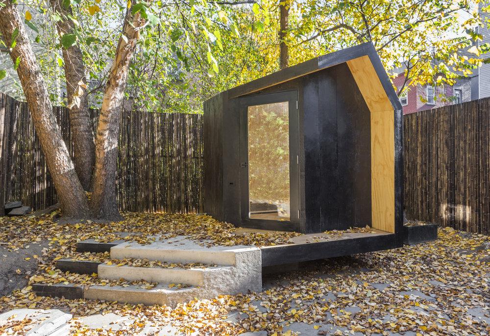 Writing Pavilion / Architensions
