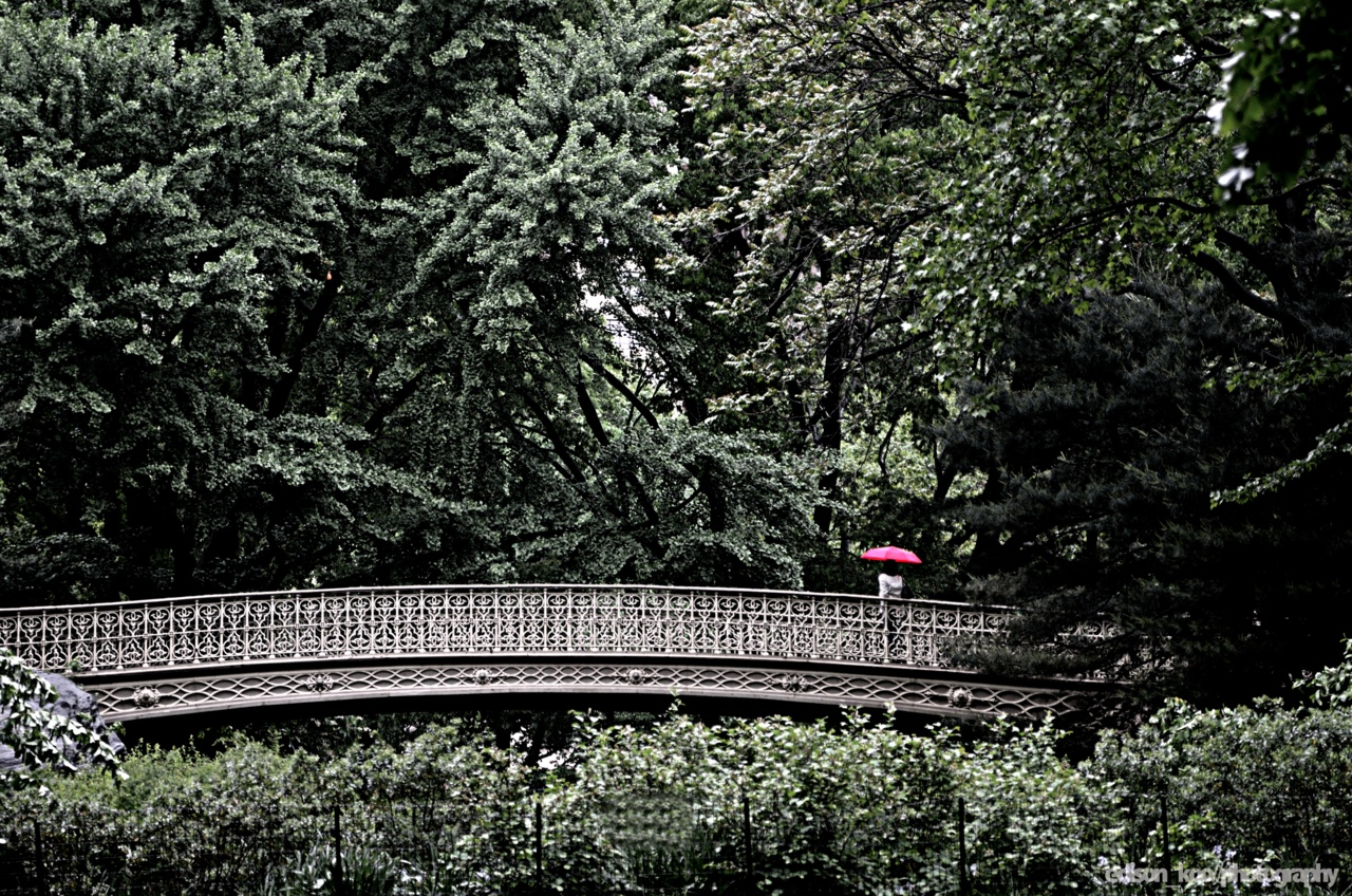The Red Umbrella Series It's been a little while since I snapped some shots, so Wednesday was the day to go execute a simple idea. I imagined a yellow umbrella in my head, but apparently the dozen or so stores that Jana and I passed weren't having it. So here it is, red, a much stronger contrast with the environment. The goal was just to have lots of negative space and for the umbrella to pop out of it.