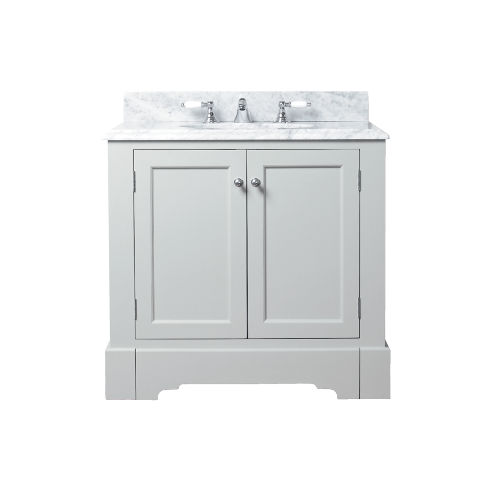 Porter Vanities Louis Single Painted Vanity