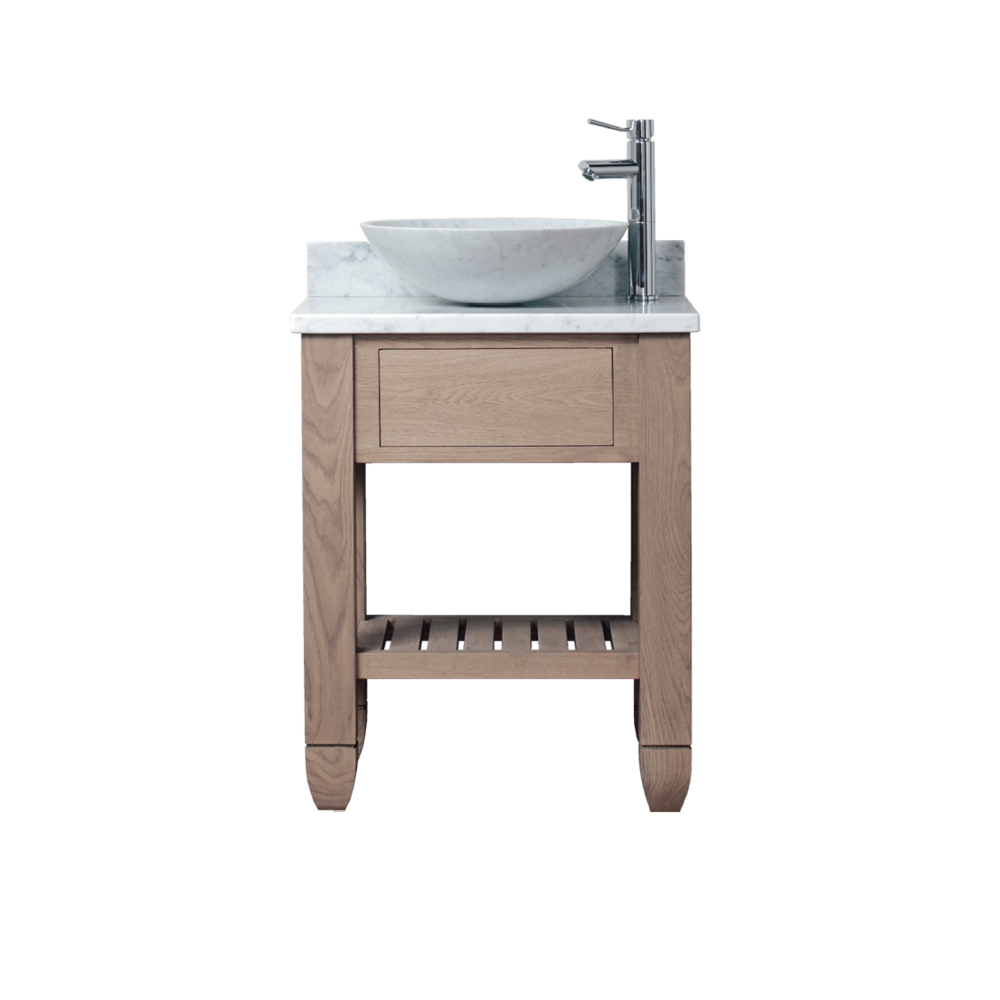 Porter Vanities Cavendish Single Oak Wood Vanity