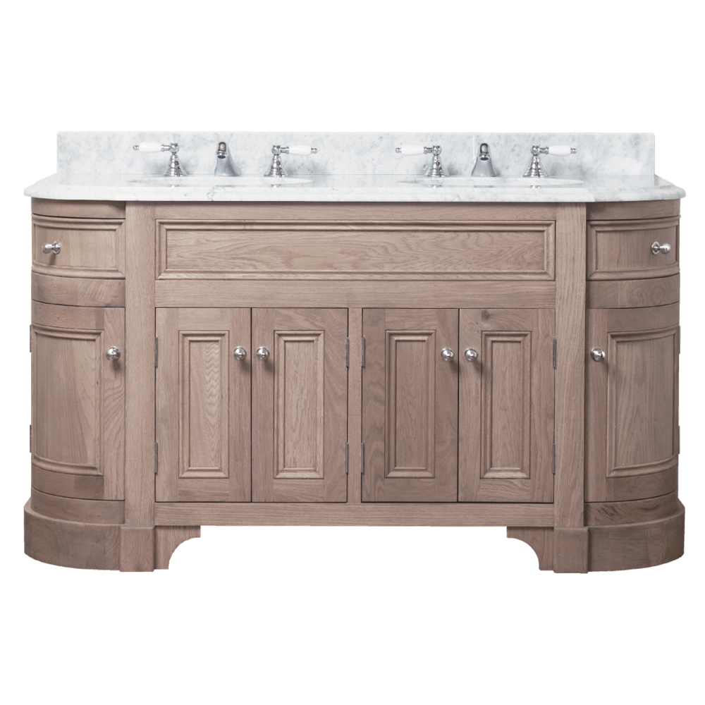 Porter Vanities Stratford Double Oak Wood Vanity