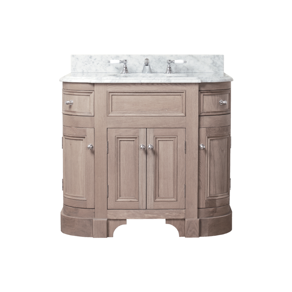 Porter Vanities Stratford Single Oak Wood Vanity