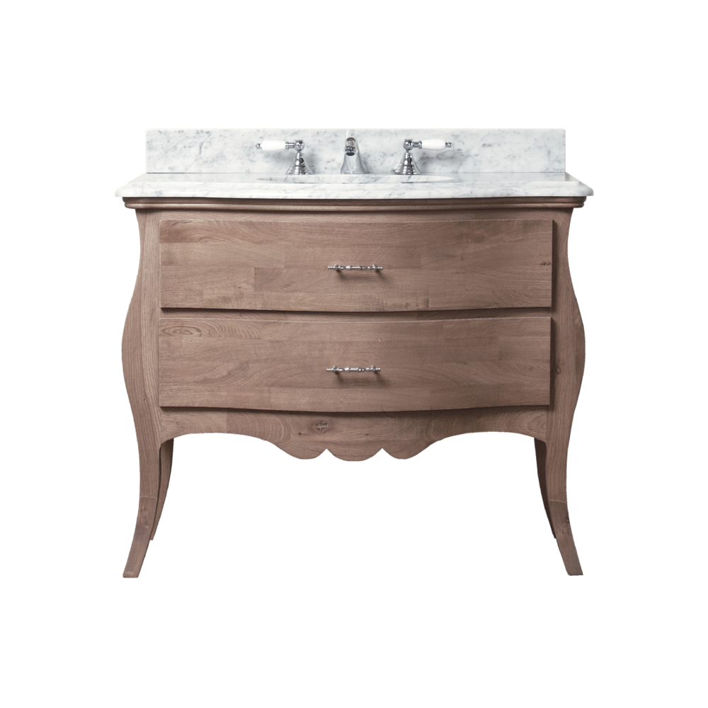Porter Vanities Dijon Mid Oak Wood Vanity