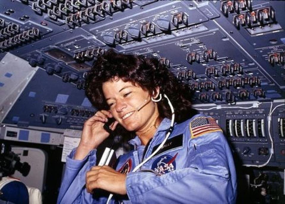 "Sally Ride on the June 1983 Space Shuttle Mission ""Challenger"""