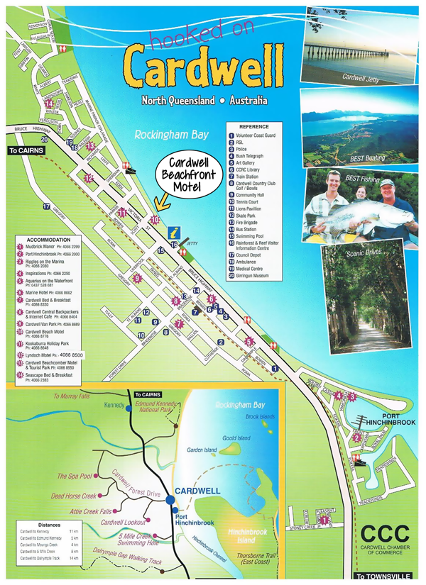 CARDWELL MAP