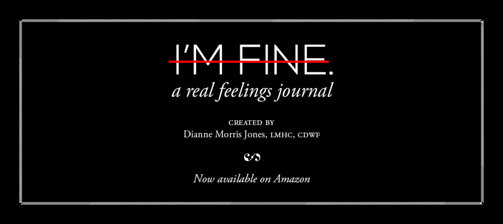 I'm Fine. A Real Feelings Journal.