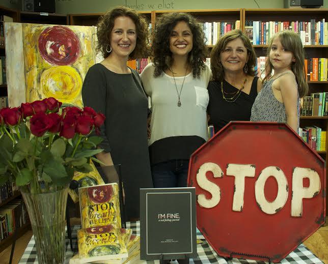 Stop Breathe Believe - Book Signing
