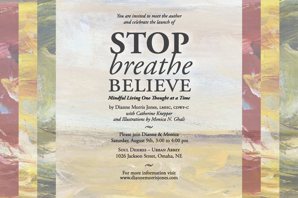 Stop Breathe Believe - Omaha Book Signing at Soul Desires