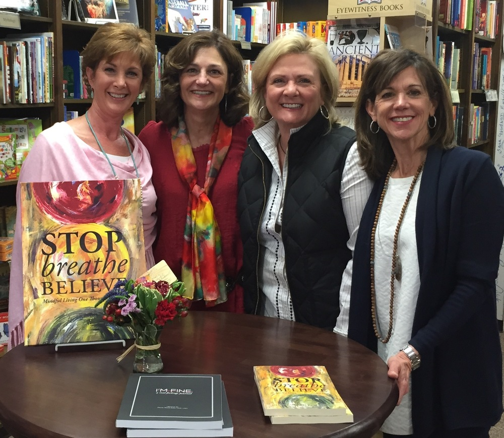 Blue Willow Book Shop with Texas Tech Kappa Kappa Gamma Sorority Sisters  in  February.