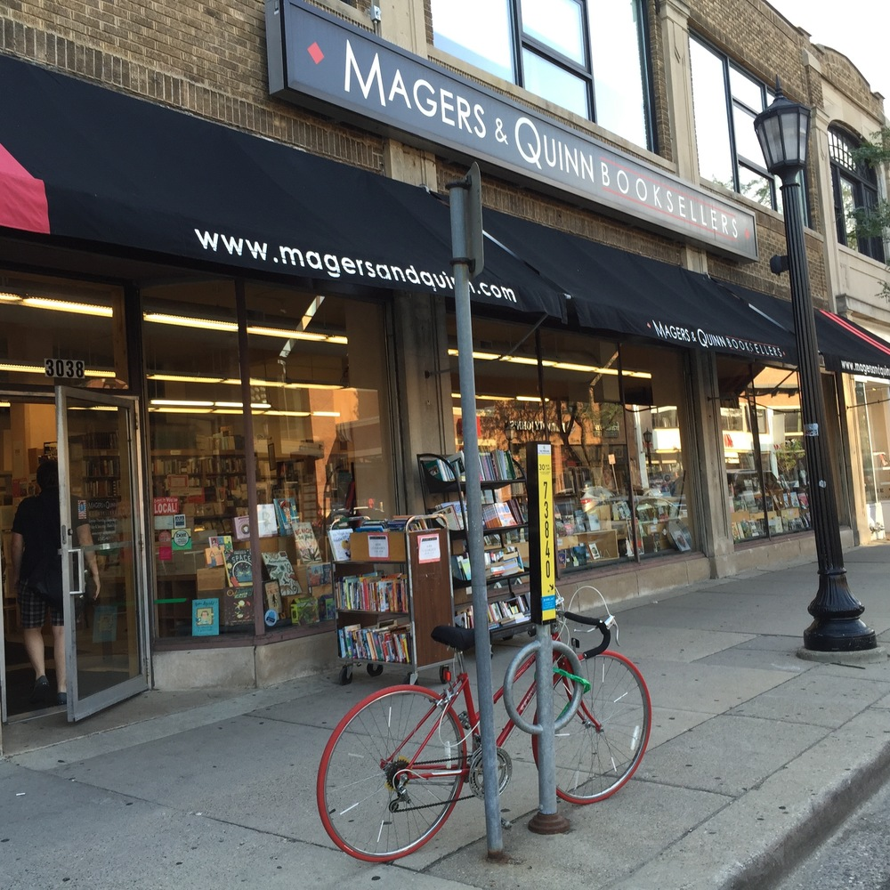 Magers and Quinn Booksellers Event in Minneapolis, MN in July