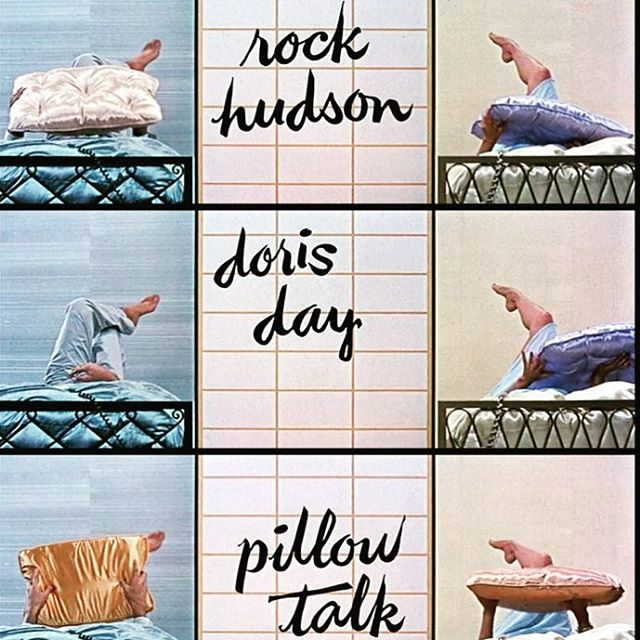 Friday night in. We have always loved this lettering, and movie! Anyone else 💗 this 1959 flick? . . . #pillowtalk #rockhudson #dorisday #fridaynightin #palmsprings #vintagelettering #handlettering #palmsprings #fridaymood #weekendvibes #palmsprings #palmspringslife #palmspringsweekend #flashesofdelight #livecolorfully #livethelittlethings #abmlifeiscolorful #abmhappylife #talktalktalk #vintagemovies #openingcredits #vintagelove #midcentury #midcenturystyle #californialustre #pillows #pajamas #pinkandblue #movienight